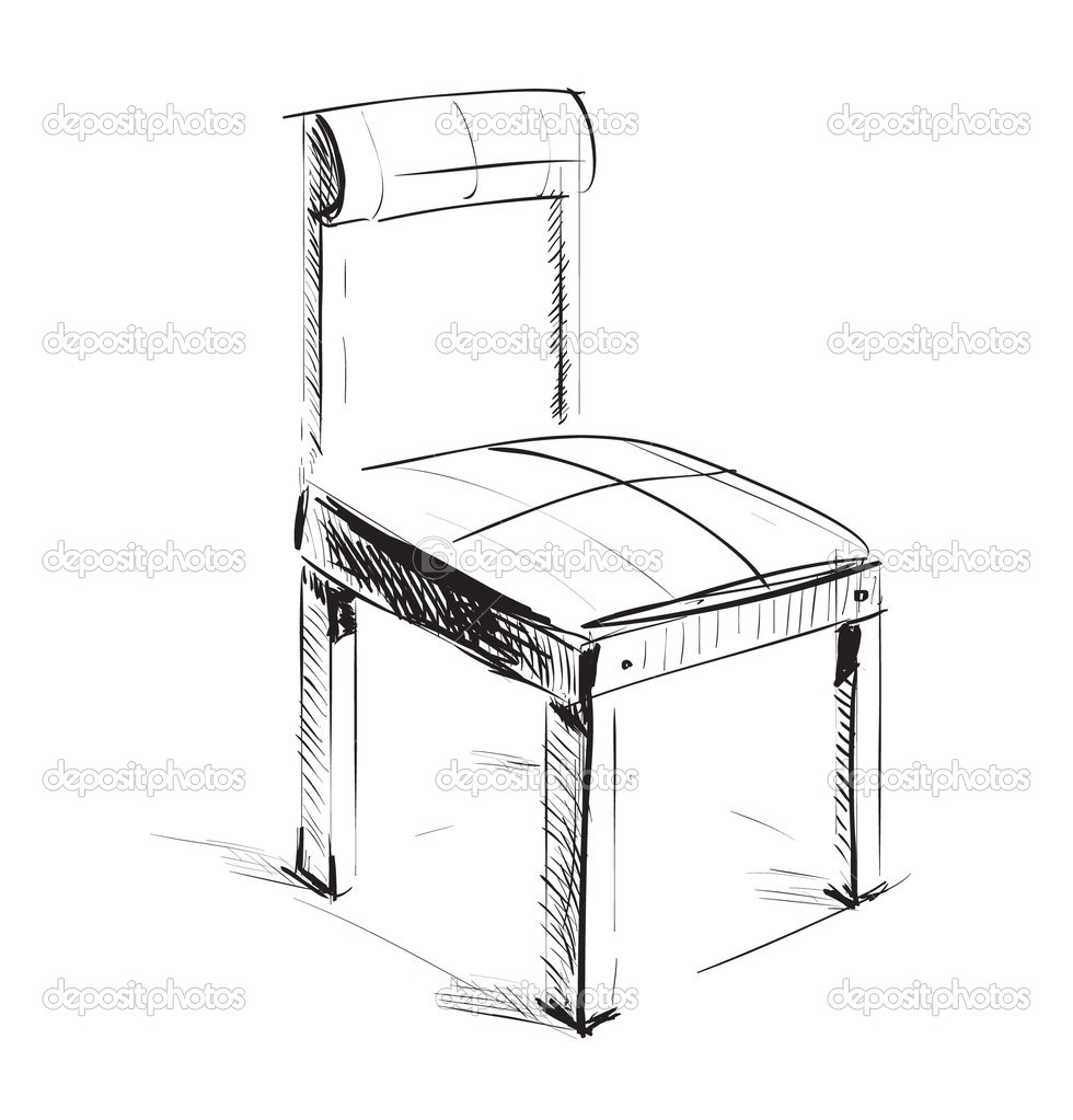 Idle ikona stock vektor chuhail 9007856 for Sillas para dibujar