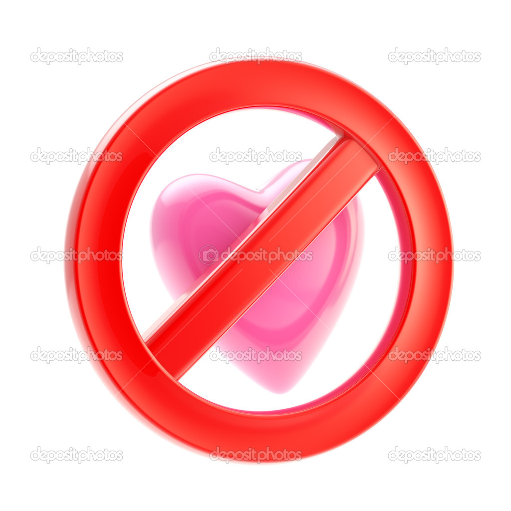 Forbidden not allowed love sign stock photo nbvf89 10272026 forbidden not allowed love sign stock photo buycottarizona