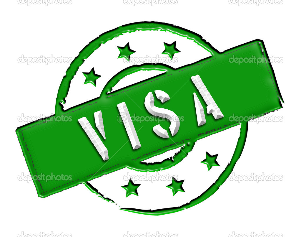 Visa Green Stock Photo Ultrakreativ 9465144