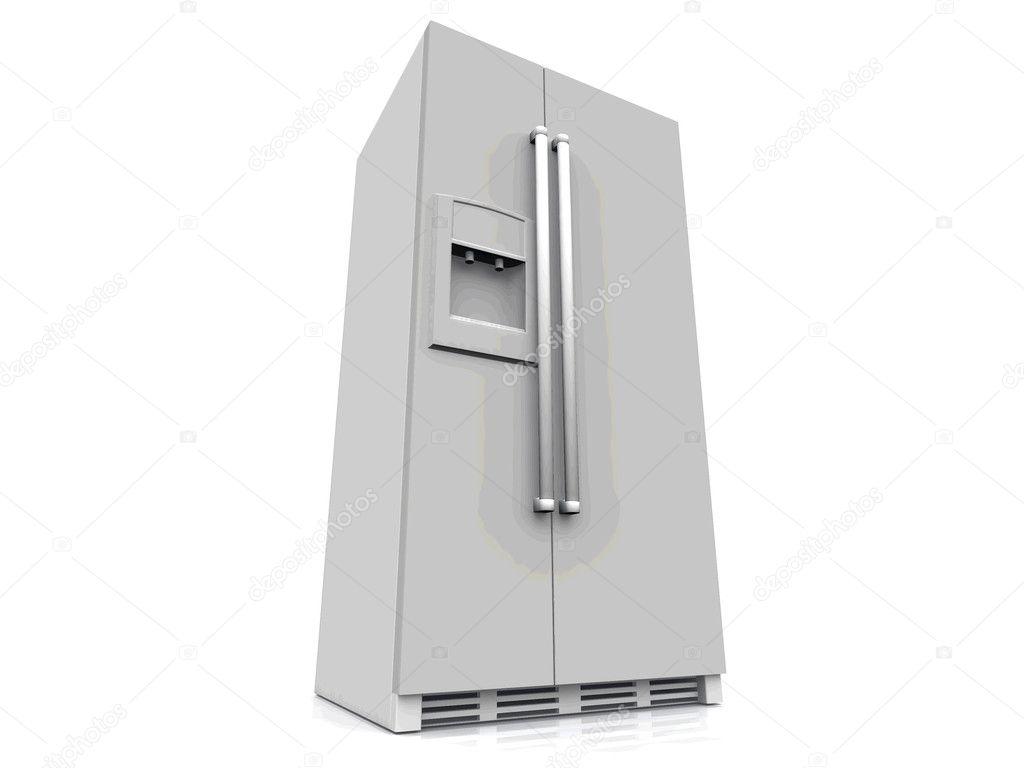 Amerikanischer Kühlschrank Flach : Der amerikanische kühlschrank u stockfoto njaj