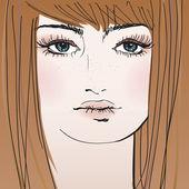 nő arcát
