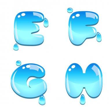 Water Bead Font Type