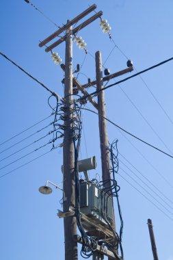 Details of a high-voltage line