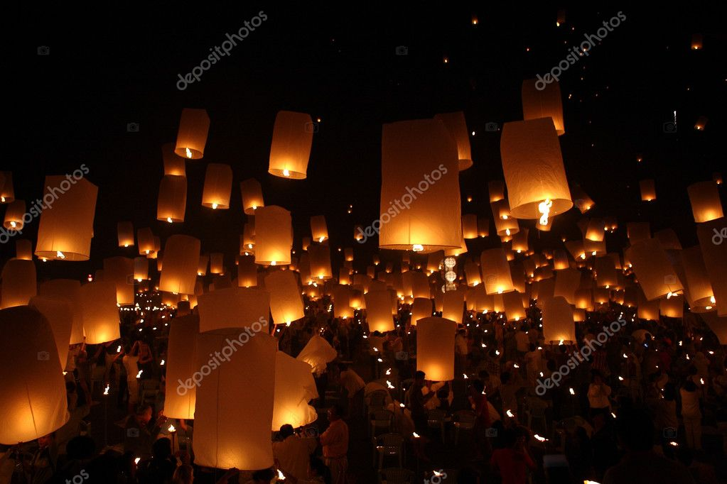 Newyear christmas balloon yeepeng lantern traditional