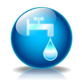 Fountain glossy icon