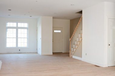 Unfinished Residential Home Interior
