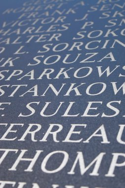 Engraved Letters