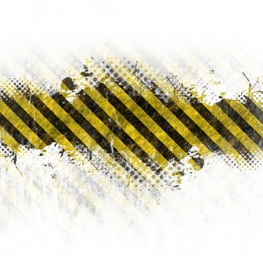 Grungy Hazard Stripes
