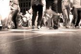 Tanz-Etage-Bewegung