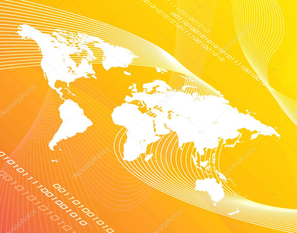 ===El mundo en colores=== Depositphotos_8806851-stock-photo-yellow-world-map
