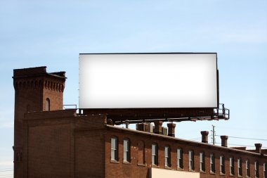 Blank Urban Billboard