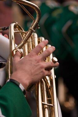 Marching Band Tuba Player