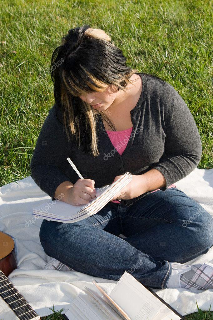Musician Writing