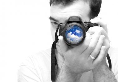 Photographer Shooting