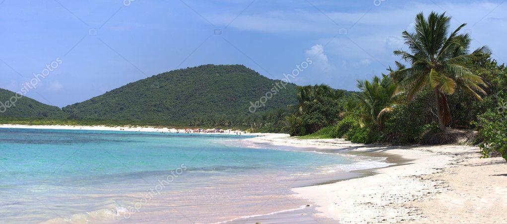 Flamenco Beach Culebra Panorama