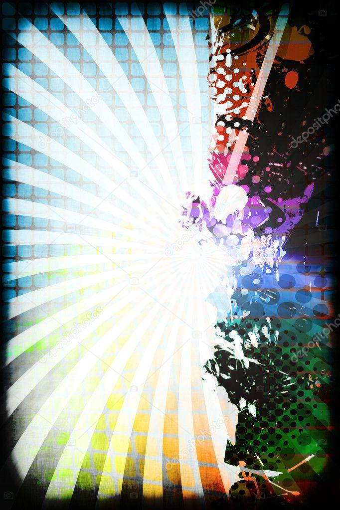 diseño Funky del arco iris — Fotos de Stock © ArenaCreative #9241953