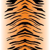 Fotografia vettore di strisce di tigre