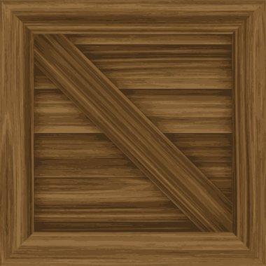 Wooden Crate Vector