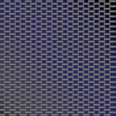 Blue Carbon Fiber Vector