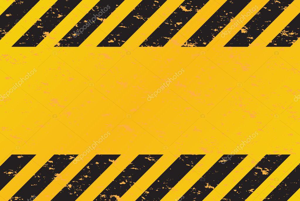 Hazard Stripes Vector