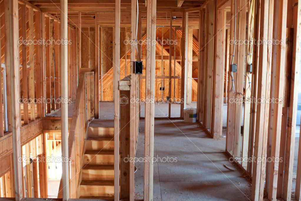 Unfinished Home Framing Interior