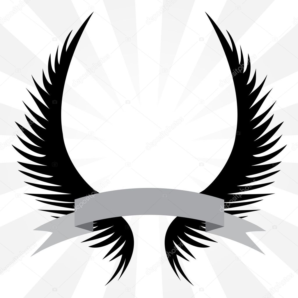 Gothic Wings Crest