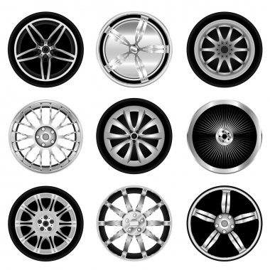 Sporty aluminum wheel