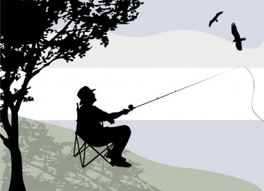 Download Fishing Chair Free Vector Eps Cdr Ai Svg Vector Illustration Graphic Art