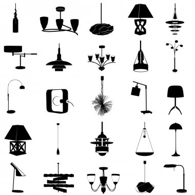 Modern lighting set
