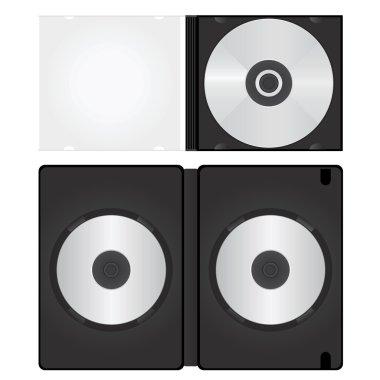 Dvd and cd box