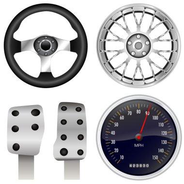 Sport car parts