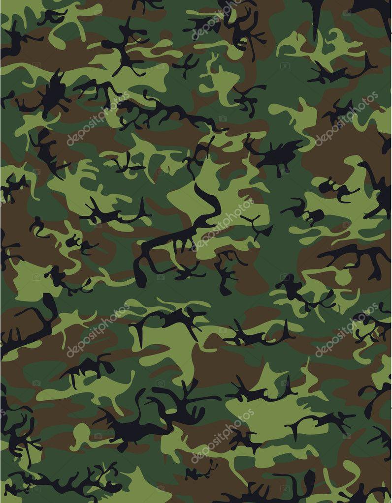 diseño de camuflaje — Vector de stock © bogalo #8486371