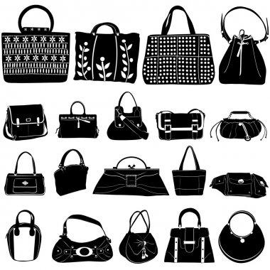 Fashion bag vector