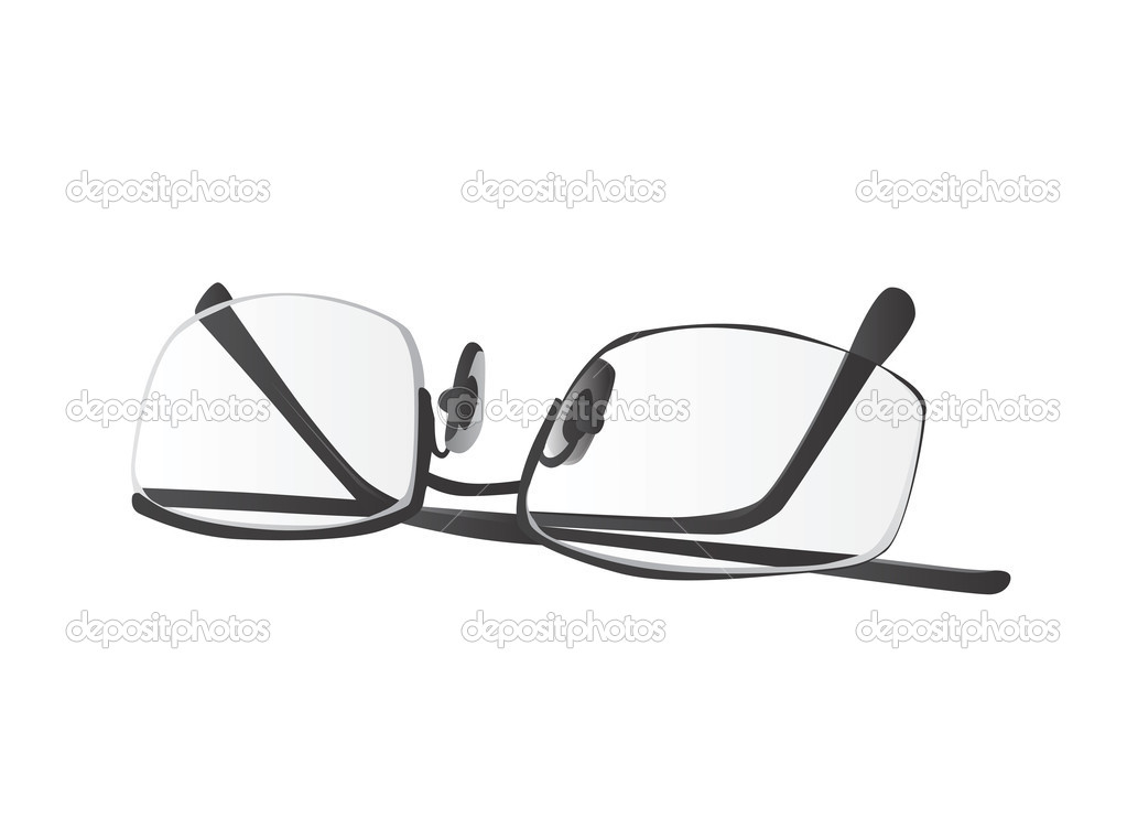 Brillen design — Stockvektor © bogalo #8555724