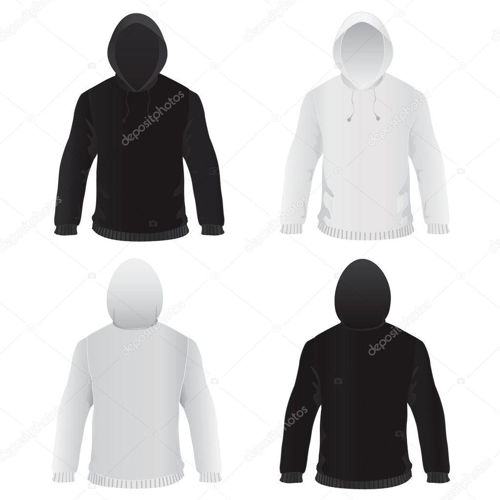 Sweat Shirt Template Vecteur Image Vectorielle Bogalo C 8555860