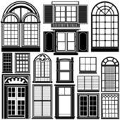 okna vektor