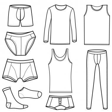 Man's underwear set