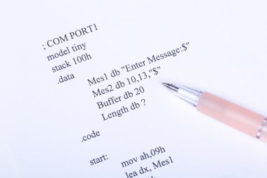 Part of the computer program