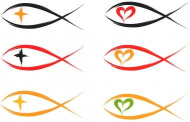Christian fish symbols