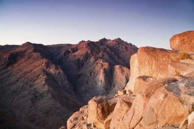 Mount Moses and Saint Catherine in Sinai Peninsula
