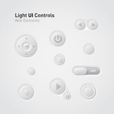 Light UI Controls Web Elements