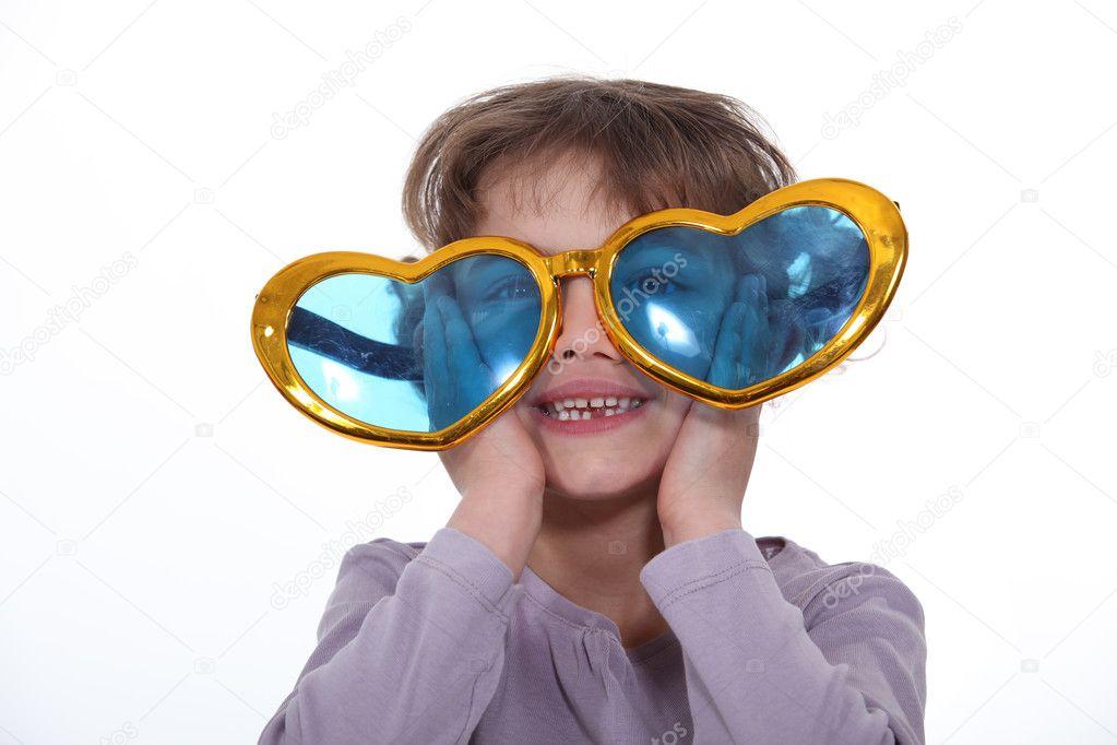 Смешные очки для девочек картинки