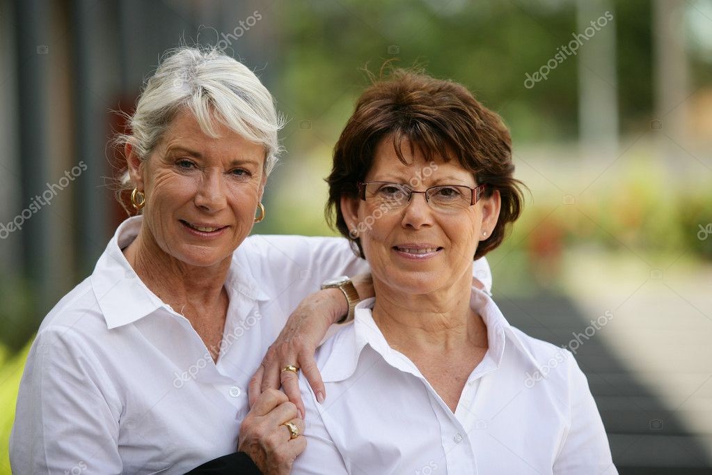 Free older women Two Older Women Standing Outside Royalty Free Photo Stock Image By C Photography33 8556579