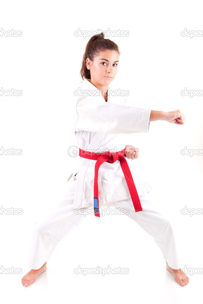Porn sexy karate outfit virgin