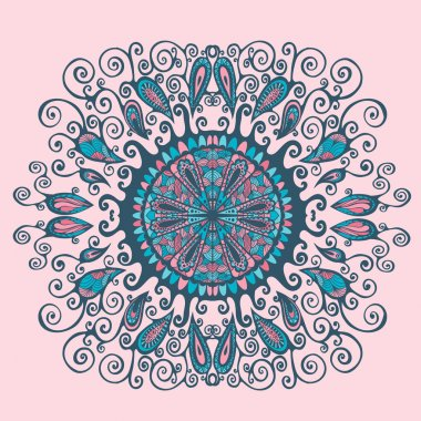 Abstract oriental pattern