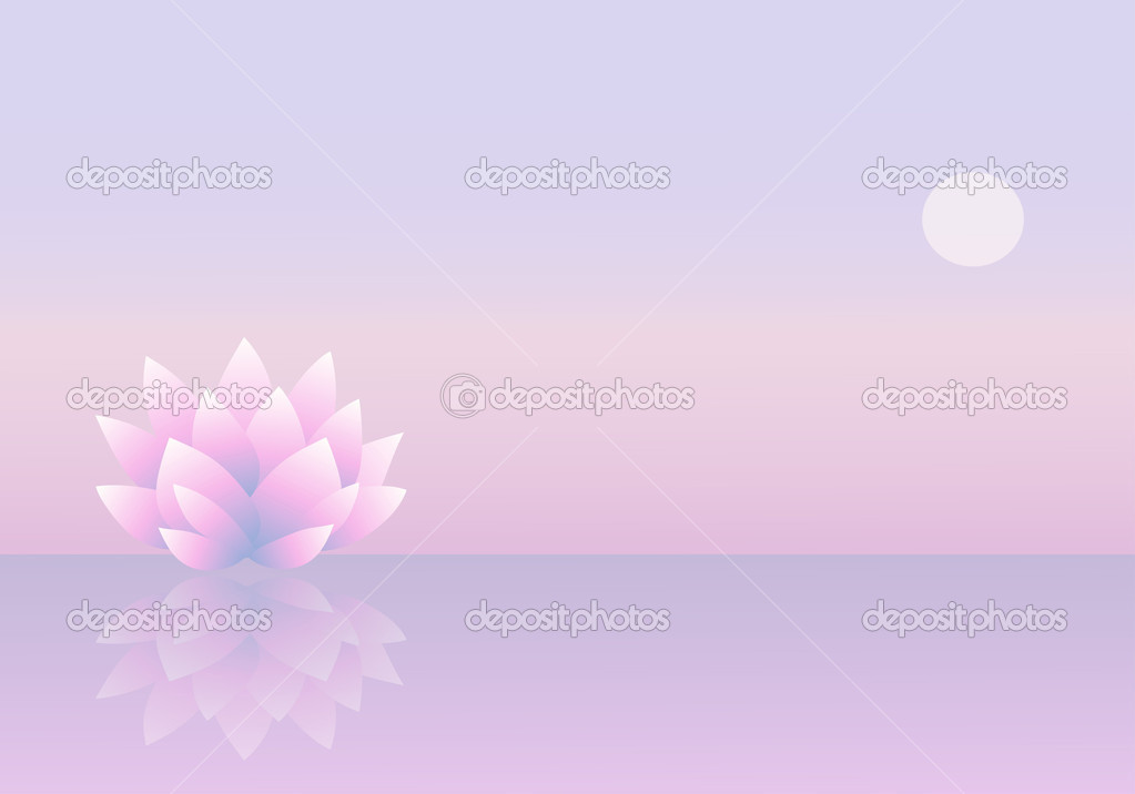 Background with lotus