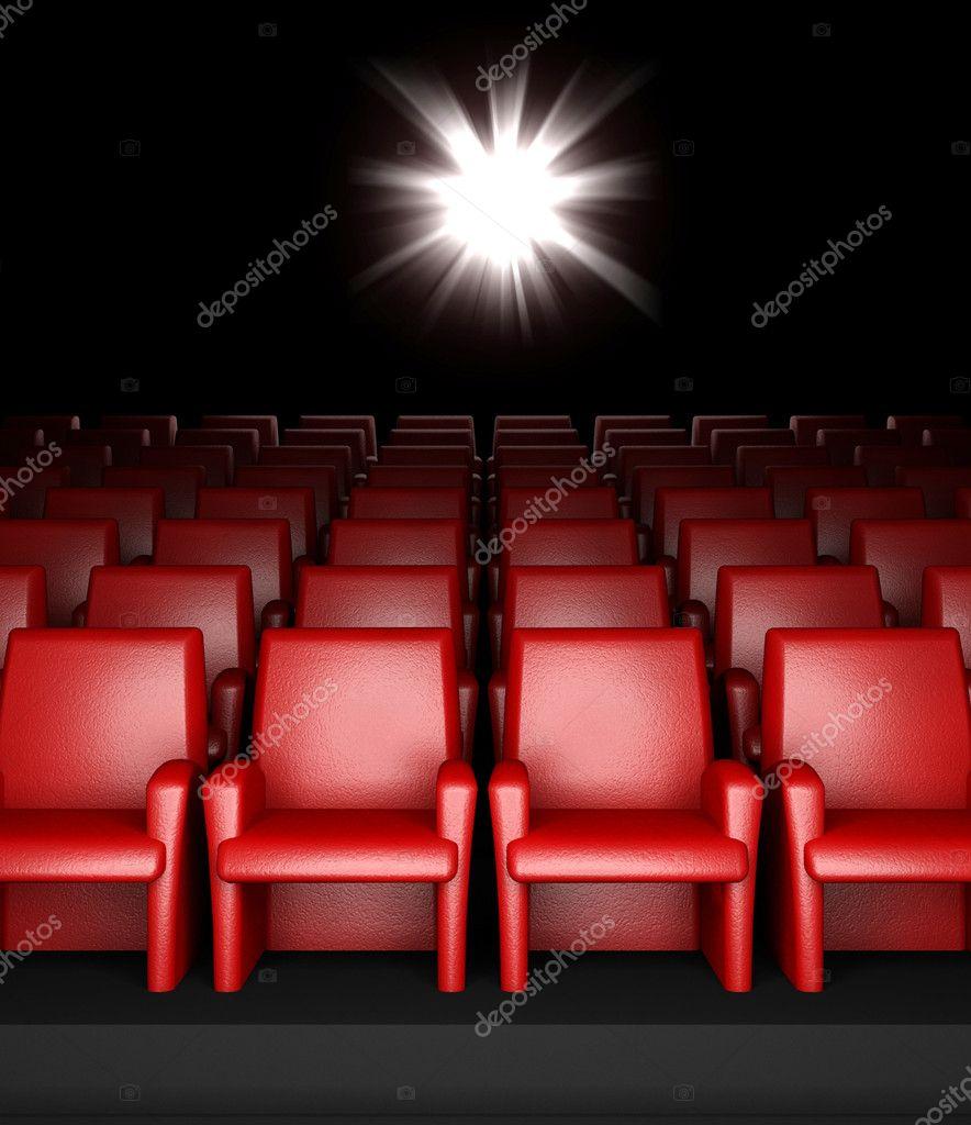 Sala De Cinema Vazia Com Audit Rio Fotografias De Stock  -> Imagem De Sala De Cinema
