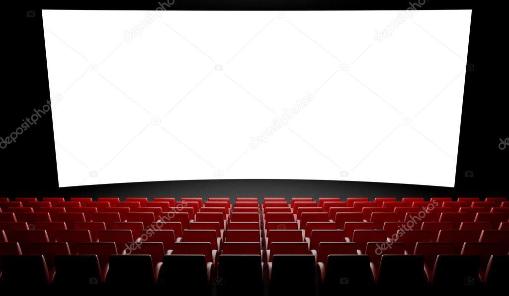 cran de cin ma vide avec auditorium photographie leszekglasner 9546888. Black Bedroom Furniture Sets. Home Design Ideas