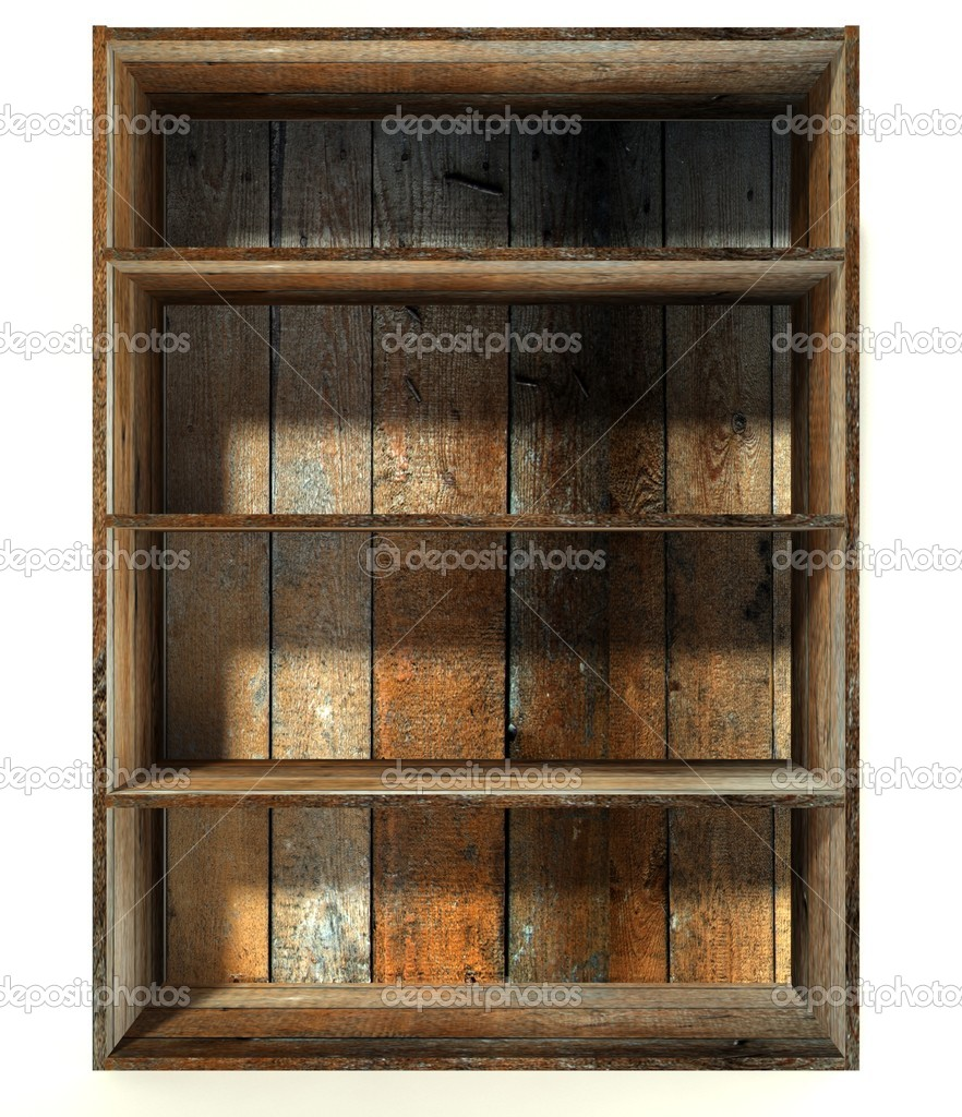 Wooden Empty Crate Boxes For Sale In A Market Place Stock