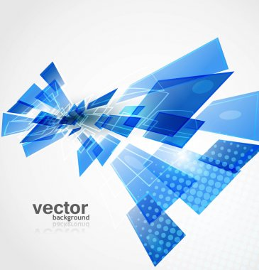 Abstract new technology Background Vector